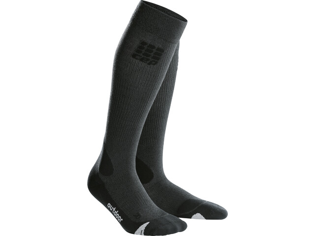 cep Pro+ Outdoor Merino Socks Men grey/black
